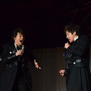 柿澤勇人、憧れの中川晃教とデュエットで「ほとんど記憶ない」