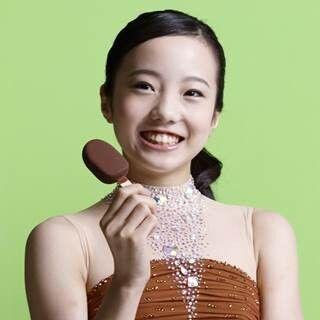 世界ジュニア女王・本田真凜、CMで初演技! ハプニングが「かわいい」に