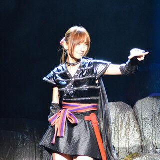 篠田麻里子、華麗なくノ一姿披露 - 初の殺陣に「本当に殺す気で」
