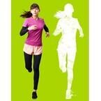 西内まりや、シルエット姿のマラソンポスター撮影「自然体でできました」