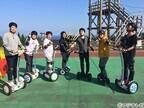 ドジャース・前田健太、出川哲朗からCCD付きヘルメットのかぶり方を学ぶ