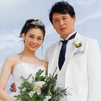 押切もえ、涌井投手とハワイで挙式 - 幸せいっぱいの花嫁写真を初公開