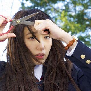 飯豊まりえ、自ら前髪をばっさり! 『きょうのキラ君』で地味系女子から変貌