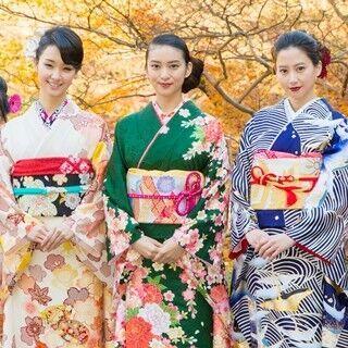 【写真特集100枚】武井咲らオスカー美女10人! にこるん晴れ着で異色コラボ