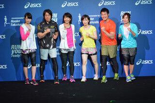 石川佳純や平井理央がランウェイに - アシックスシーズンコンセプト発表会
