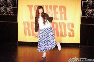 後のラゾーナで3rdシングルの発売も明らかに! トミタ栞2ndシングル「きらきら」発売記念イベント in 渋谷タワーレコード
