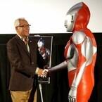 ハヤタ隊員とウルトラマンが東京国際映画祭で47年ぶりの再会 - 円谷プロ会見