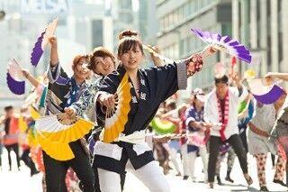 東京都で、全国の踊りを見られる「日本橋・京橋まつり」開催