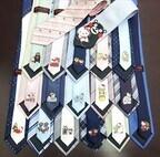 ゆるキャラとハローキティがコラボしたネクタイ発売 -各地の15キャラ