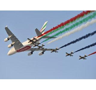 エミレーツが777X型とA380型で、民間航空史上最大の航空機発注契約を発表