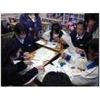 """茨城の中学生が発案、地域をつなぐ""""せんべい""""商品化--損保ジャパン環境財団"""