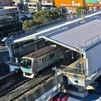 """東京メトロ東西線南行徳駅が""""環境に配慮した駅""""に - ホームに膜屋根も導入"""