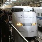 東海道・山陽新幹線300系&100系引退 - 東京駅にはファンら1,000人以上集結