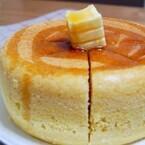炊飯器でつくる「厚焼きホットケーキ」