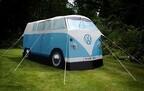 フォルクスワーゲン、ミニバス型テントが当たる車検キャンペーン実施中