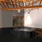車いすのまま浴室まで入れる貸切展望風呂が完成 - 淡路インターナショナルホテル