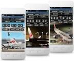 JAL、国内線出発のカウントダウンアプリを提供