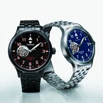 「J.SPRINGS」自動巻時計新作はセミスケルトン仕様 - セイコーインスツル