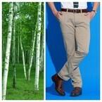 エドウイン、「白樺」「竹」「麻」天然素材のクールビズ対応ジーンズ発売