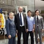 「ヘリーハンセン原宿店」にノルウェー貿易産業大臣トロン・ギスケ氏来店!