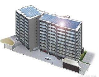 全戸太陽光発電システムが搭載された分譲マンション、奈良県に登場