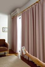 マイナス13.5℃の遮熱効果「遮熱カーテン&レースカーテン」 - セシール