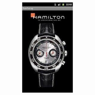 ハミルトン、Android用ライブ壁紙に人気ウォッチ「パンユーロ」新作を追加