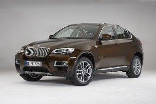 「BMW X6」をマイナーチェンジ、フロントのキドニーグリルも新デザインに