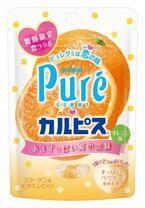 ピュレグミから期間限定フレーバー「カルピスコラボ オレンジ味」発売