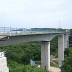 新東名「青木川橋」つながる - 長さは愛知県内最大級、高さも高層ビル並み