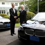 BMW、在日ドイツ大使館の公用車としてActiveHybrid 5などを納車