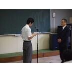 アメリカンホーム、富山県立ふるさと支援学校に紅梅を奇贈