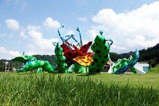 新潟県、越後妻有地区の里山を舞台に世界最大規模の芸術祭開催