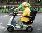 乗って見て知る! 「ユビキタス電動カート」の試験運用を実施 - 上野動物園
