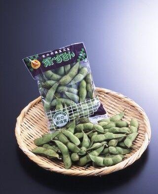 丹波黒大豆から生まれた京都のブランド枝豆「紫ずきん」販売開始!
