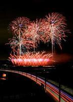 千葉県印旛沼の秋を8,000発の花火が彩る! 「NARITA花火大会in印旛沼」開催