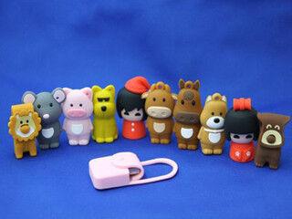 まるで指人形!? 「動物USBメモリー」の販売開始