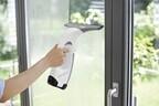 ケルヒャージャパン、洗剤で浮いた窓の汚れを吸引するクリーナー「WV 75 plus」発売