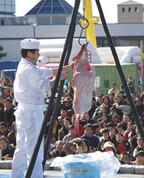 茨城県大洗町であんこうざんまい! 11/18「大洗あんこう祭」開催