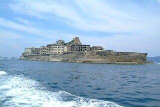 長崎県の無人島、端島(軍艦島)で12月15日から桟橋工事、上陸は一時中止