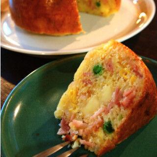 炊飯器で「ケークサレ」が焼けた! ホットケーキミックスを使う超簡単レシピ