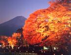 山梨県富士五湖は秋本番!! 紅葉の中「富士五湖秋祭スタンプラリー」開催