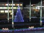 東京都稲城市の若葉台でイルミネーション点灯、情緒豊かな雰囲気に