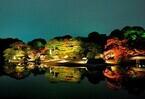 東京都随一の紅葉名所「六義園」で、大名庭園を幻想的にライトアップ