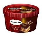 ハーゲンダッツ、チョコレートの上に金箔が輝く「オペラ」を限定発売