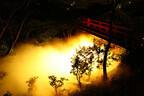 東京都・椿山荘で、秋をイメージしたライトアップ「雲海・黄昏」開始