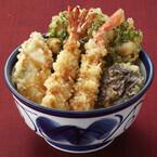 天丼てんや、季節限定の海の幸を使った「海の幸天丼」を販売開始