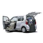 スズキ、福祉車両ウィズシリーズに「ワゴンR 昇降シート車」を設定して発売
