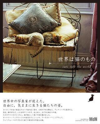 「世界は猫のもの」-世界中の猫が大集合の写真集発売