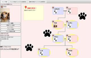 犬・猫の系図を作成できる!? 「ペット系図net」リリース